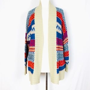 i Jeans By Buffalo Size S/M Open Face Cardigan